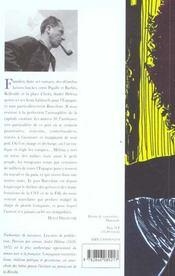 Massacres A L'Anisette - 4ème de couverture - Format classique