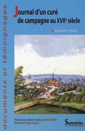 Journal d'un curé de campagne au XVII siècle - Intérieur - Format classique