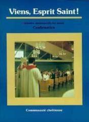 Viens Esprit Saint-Communaute - Couverture - Format classique