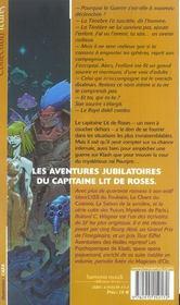 Aventuriers Des Etoiles - 4ème de couverture - Format classique