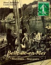 Belle ile souvenirs, souvenirs - Couverture - Format classique