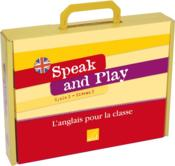 Vente livre :  Speak And Play ; Anglais ; Cm2 ; Cycle 3, Niveau 3 ; Fichier Ressources, 96 Flashcards, 12 Posters, 42 Wordcards ; Jeu De Cartes  - Collectif