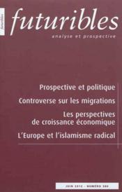 Prospective et politique - Couverture - Format classique