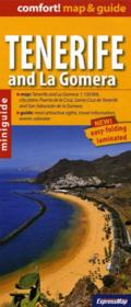 Vente livre :  CONFORT MAP ; Tenerife and la Gomera (comfort !map&guide, carte laminee)  - Xxx - Collectif