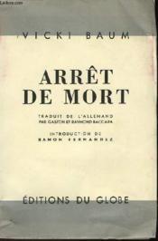 Arret De Mort - Couverture - Format classique
