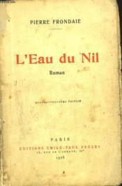 L'Eau Du Nil - Couverture - Format classique