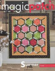 Vente livre :  Magic patch N.134 ; quilts en été  - Collectif - Magic Patch