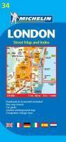 Vente livre :  London ; street map and index  - Collectif Michelin