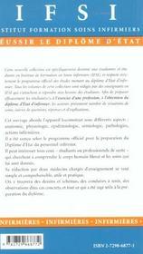 Soins Infirmiers Aux Personnes Atteintes D'Affections Traumatologiques Et Orthopediques - 4ème de couverture - Format classique