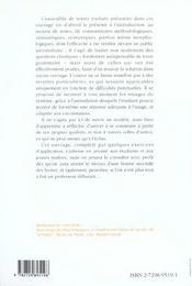 L'Espagnol Par Le Theme - 4ème de couverture - Format classique