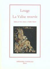 La Valise Trouvee ; Edition Brochee - Intérieur - Format classique