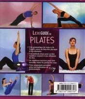 Lexiguide du pilates - 4ème de couverture - Format classique