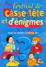 Festival De Casse-Tete Et D'Enigmes - Intérieur - Format classique
