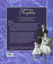 Amour Royales - 4ème de couverture - Format classique