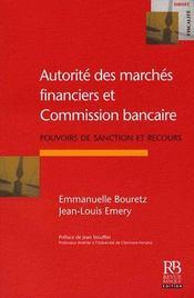 L'autorité des marchés financiers et la consommation bancaire - Intérieur - Format classique