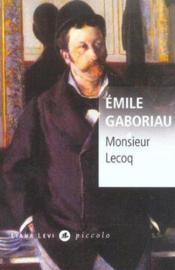 Monsieur Lecoq - Couverture - Format classique