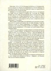 Guillaume De Puylaurens Chronique 1145-1275 - Couverture - Format classique