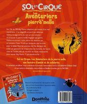 Les Aventuriers De La Pierre Molle - 4ème de couverture - Format classique