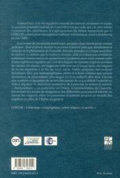 Personnes D Autorite En Milieu Regulier - 4ème de couverture - Format classique
