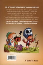 Jeu de gamins t.1 ; le trésor du pirate - 4ème de couverture - Format classique