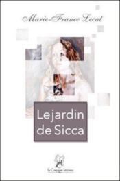 Le jardin de Sicca - Couverture - Format classique