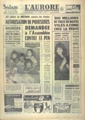 Aurore (L') N°5370 du 09/12/1961 - Couverture - Format classique