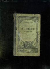 Actionis In C Verrem Secundae Liber Quintus Qui Inscribitur De Suppliciis.. - Couverture - Format classique