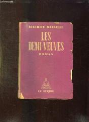 Les Demi Veuves. - Couverture - Format classique