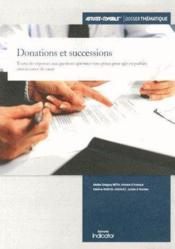 Vente livre :  Donations et successions  - Collectif