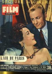 Lecture Et Cinema - Film Complet N° 512 - L'Air De Paris - Couverture - Format classique