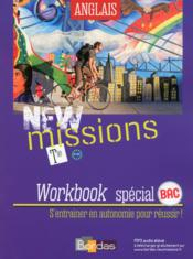 Vente  NEW MISSIONS ; anglais ; terminale ; worbook spécial bac (édition 2016)  - Collectif