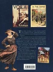 Les bretons dans la presse populaire illustree - 4ème de couverture - Format classique