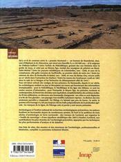 Archéologie en normandie - 4ème de couverture - Format classique