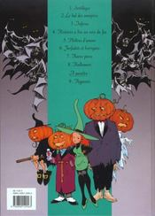Mélusine t.8 ; Halloween - 4ème de couverture - Format classique