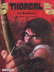 Thorgal T.27 ; Le Barbare - Intérieur - Format classique