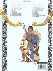 Thorgal T.27 ; Le Barbare - 4ème de couverture - Format classique