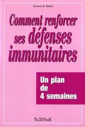 Renforcer Vos Defenses Immunitaires - Intérieur - Format classique