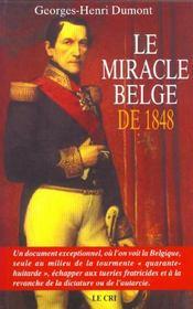 Le miracle belge de 1848 - Intérieur - Format classique
