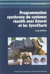 Programmation Synchrone De Systemes Reactifs Avec Esterel Et Les Syncharts - Intérieur - Format classique