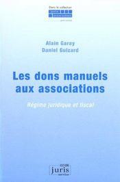 Les Dons Manuels Aux Associations - Intérieur - Format classique