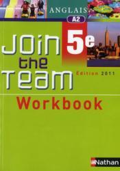 Anglais ; 5ème ; workbook (édition 2011) - Couverture - Format classique