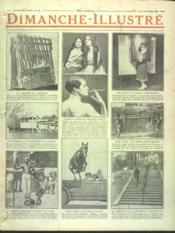 Dimanche Illustre N°191 du 24/10/1926 - Couverture - Format classique