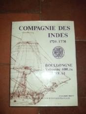 Compagnie Des Indes, 1720-1770 : Vol II : Le Boullongne Vaisseau 600.tx 1759-1761 (Monographie Accompagnee De 50 Planches Au 1/48e) - Couverture - Format classique