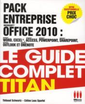 Entreprise Office 2010 (Word, Excel, Access, PowerPoint, Outlook, SharePoint, OneNote) ; coffret - Couverture - Format classique