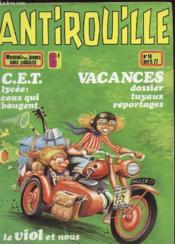 Antirouille N°14 - Vacances, Dossier Tuyaux Reportages - Couverture - Format classique