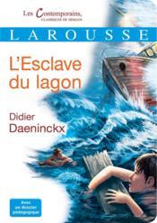 L'esclave du lagon - Couverture - Format classique