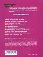Etude Sur L'Enfant Jules Valles - 4ème de couverture - Format classique