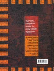 Plus Beaux Mythes D'Egypte Et D'Afrique (Les) - 4ème de couverture - Format classique