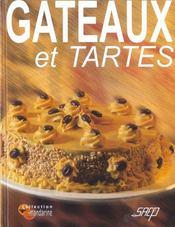 Gateaux et tartes - Intérieur - Format classique