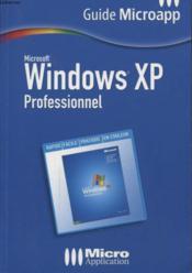 Windows Xp Professionnel - Couverture - Format classique
